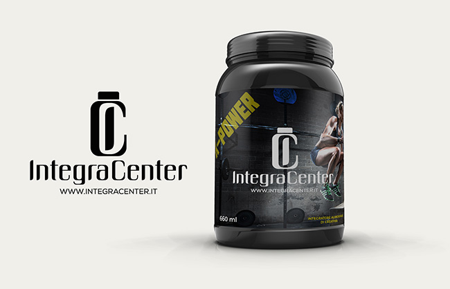 Creazione logo Integra Center - Sport Nutrition